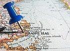 Cómo llegar a Shanghái, mapa de situación