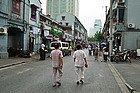 Paseando en pijama por Shanghái