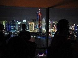 Bar Panorámico en Shanghái, Vue Bar