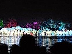 Hangzhou, Espectáculo nocturno en el Lago del Oeste