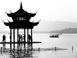Hangzhou, Lago el Oeste