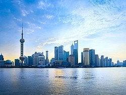 Shanghái al amanecer