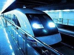 Tren Maglev en el Aeropuerto de Pudong