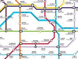 Plano de metro de Shanghái