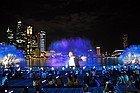 Marina Bay Sands, espectaculo