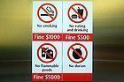 Prohibido durianes