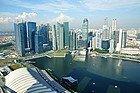 Marina Bay Sands, vistas desde el Skypark