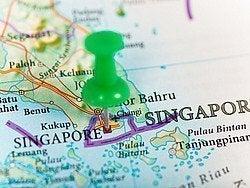 Mapa de Singapur, como llegar