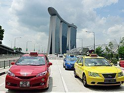 Taxis de Singapur