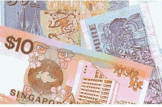Billetes de Dólar de Singapur (SGD)