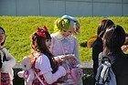 Chicas Harajuku vestidas para la ocasión