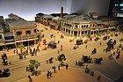 Museo Edo-Tokyo, maqueta Edo