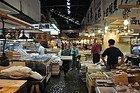 Tsukiji, interior del mercado