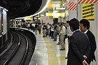 Línea Yamanote, anden