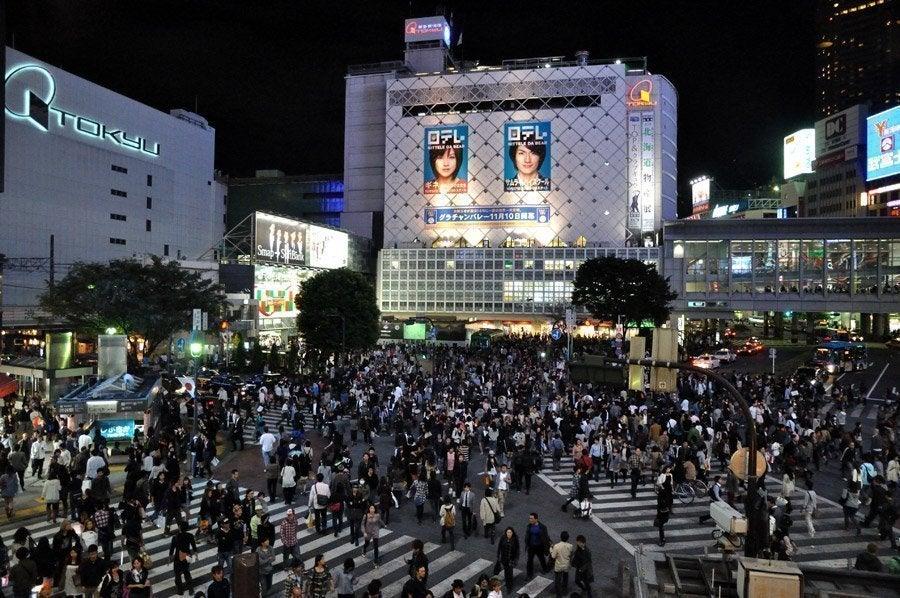 Resultado de imagen de cruce shibuya tokyo