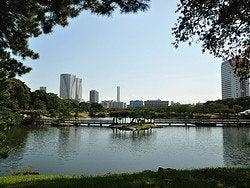 Jardin Hama Rikyu y su entorno