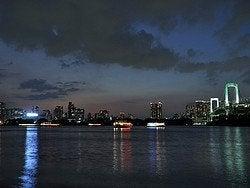 Vistas de Tokio desde Odaiba
