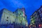 Catedral de Valladolid iluminada