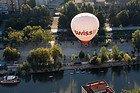 Sobrevolando Valladolid en globo