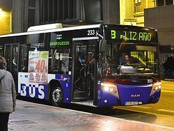 Autobús urbano de Valladolid