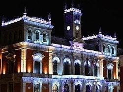 Ayuntamiento en Navidad