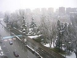 Tiempo en Valladolid, invierno