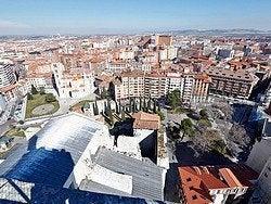 Vistas desde la torre de la Catedral de Valladolid