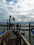 Información de Venecia, embarcadero
