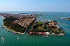 Bird's-eye view of Venice