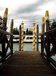 Pier in Venice