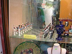 Chess set in the Jewish Quarter