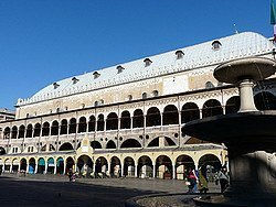 Piazza delle Erbe in Padua