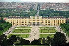 Castello di Schönbrunn dalla Gloriette