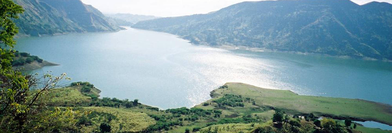 Excursión al lago de Péligre y Bassin Zim