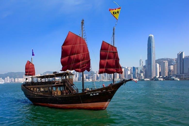 ,Crucero por la Bahía Victoria