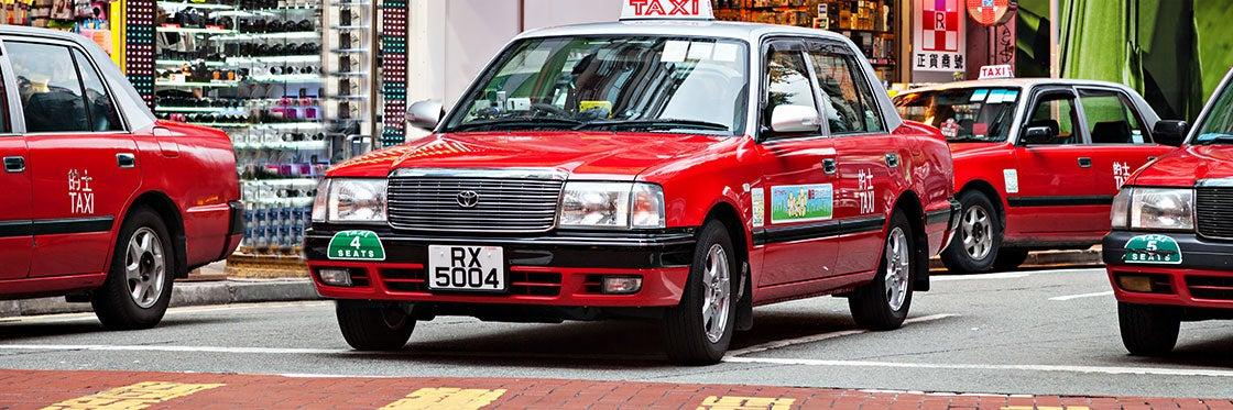 Taxis en Hong Kong