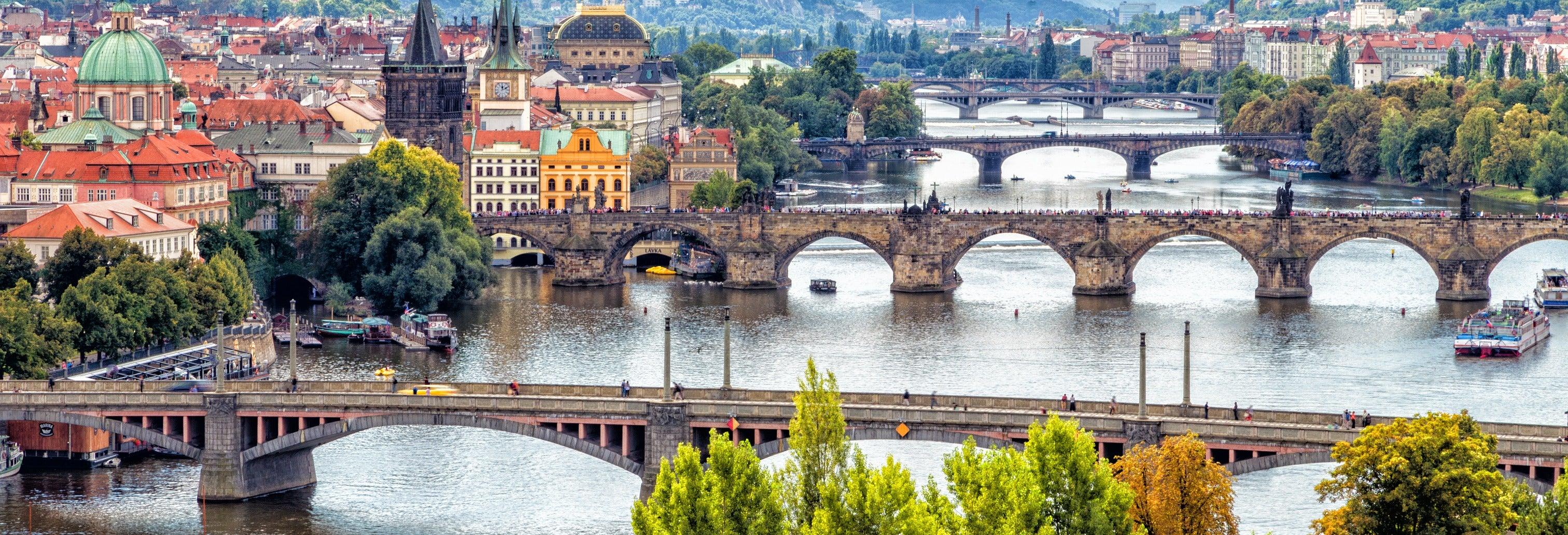 Tour de 4 días por Bratislava, Praga y Viena
