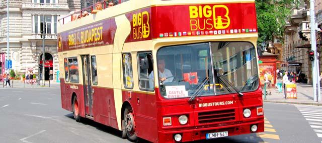 Bus touristique de Budapest