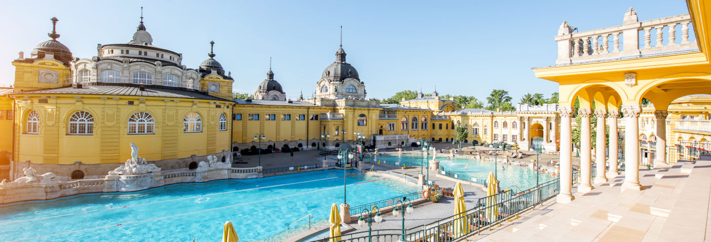 Szechenyi Spa Admission with Massage