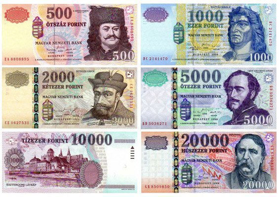 Money And Foreign Exchange In Budapest