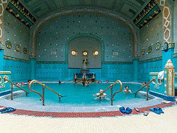 ,Balneario Gellért,Gellért Thermal Baths,Balnearios de Budapest,Balneario Gellért