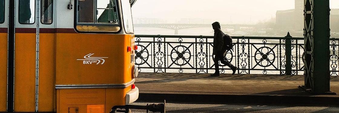 Trasporto a Budapest