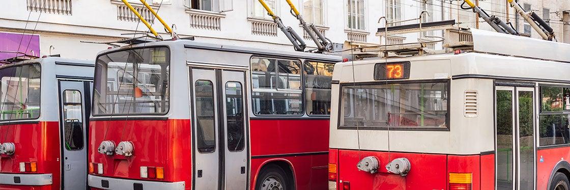 Trolleybus à Budapest