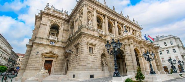 Visite guidée de l'Opéra de Budapest