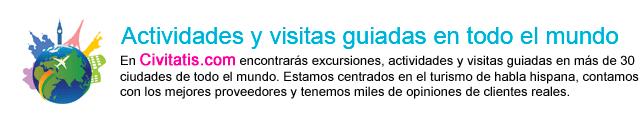 Excursiones, actividades y visitas guiadas en todo el Mundo
