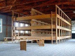 Barracones en Dachau