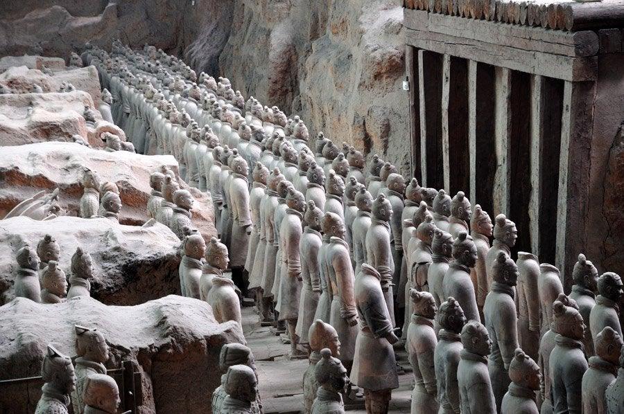 Guerreros de terracota de Xián