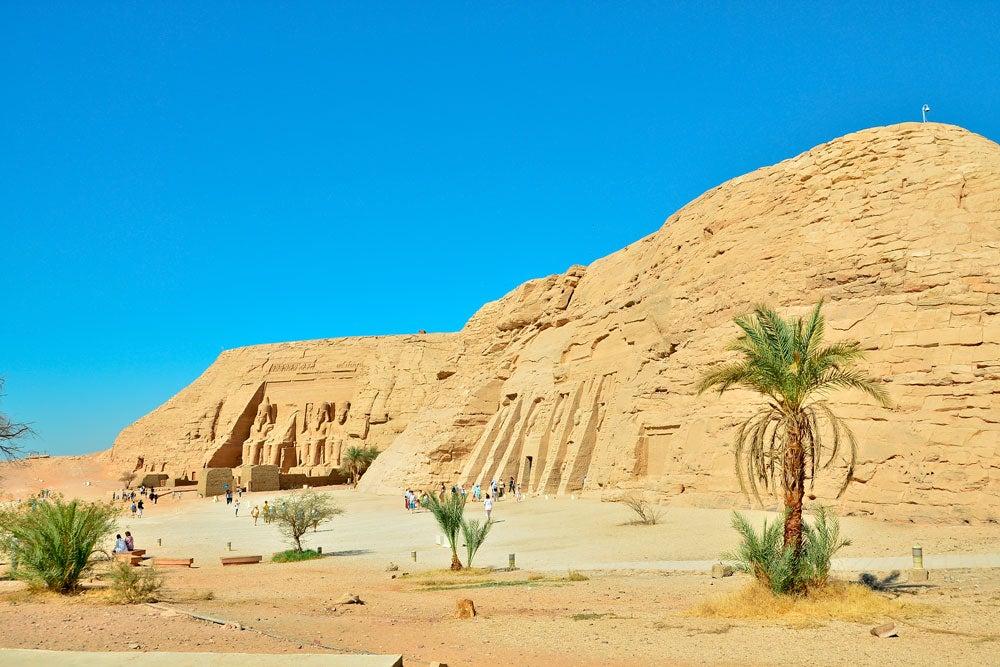 Ruinas de Abu Simbel
