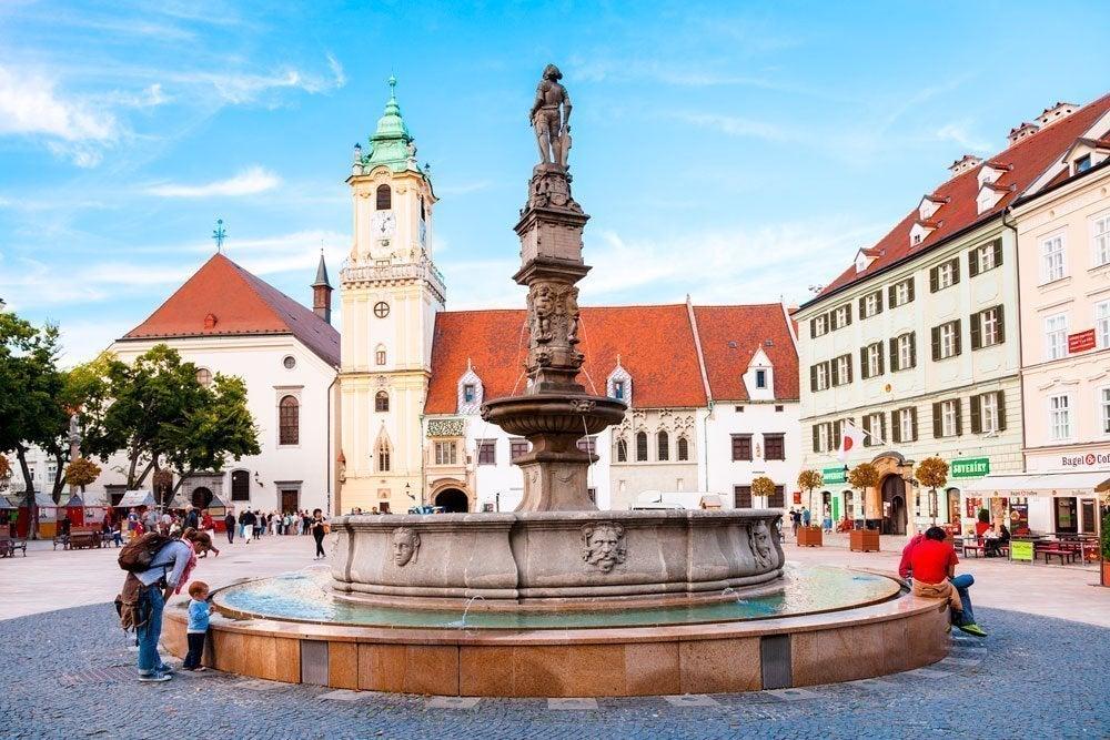 Plaza Mayor de Bratislava
