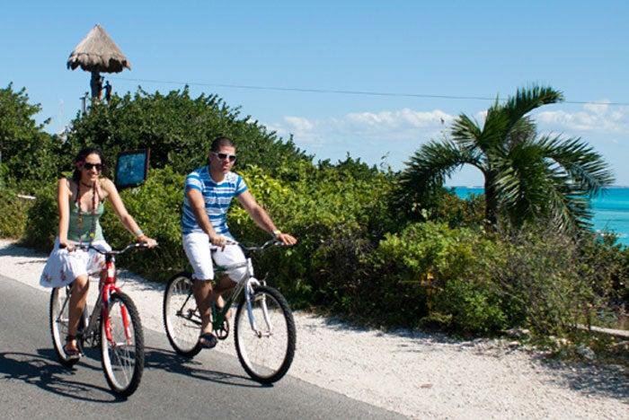Tour en bicicleta por Isla Mujeres
